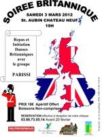 Soirée Britannique